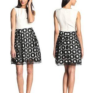 NWT Cynthia Steffe Andy Fit and Flare Dress *flaw